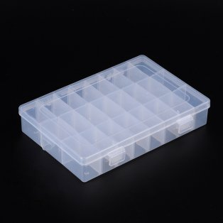 Plastový pořadník - 19,6 x 13,3 x 3,7 cm - 1 ks