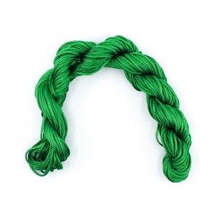 Nylonová šňůra - zelená - ∅ 1 mm - 25 m - 1 ks