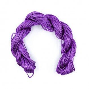 Nylonová šňůra - fialová - ∅ 1 mm - 25 m - 1 ks