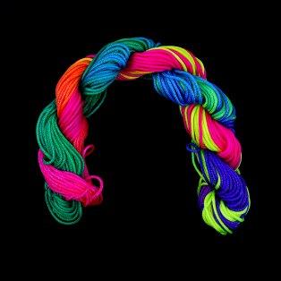 Nylonová šňůra - barevná - ∅ 1 mm - 25 m - 1 ks