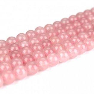 VO balení - Přírodní růženín - ∅ 6 mm - 310 ks