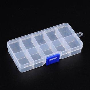Plastový pořadník - 13 x 7 x 2,3 cm - 1 ks