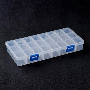 Plastový pořadník - 21,8 x 11 x 3 cm - 1 ks