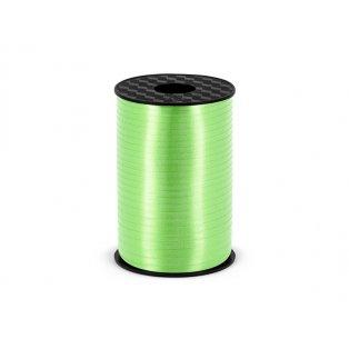 Vázací stuha, jablíčkově zelená, 5mm/225m