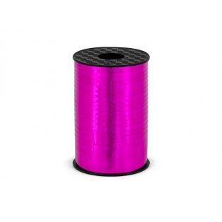 Vázací stuha, neonověově růžová, 5mm/225m