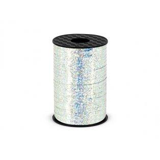 Vázací stuha, stříbrná, 5mm/225m