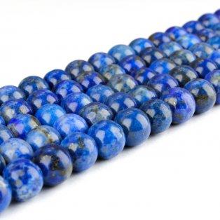 Přírodní lapis lazuli - ∅ 4 mm - 1 ks
