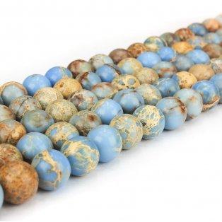 Přírodní regalit - světle modrý - ∅ 4 mm - 1ks