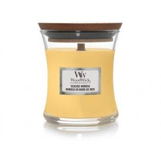 Woodwick svíčka - sklo malé/Seaside Mimosa 08/19;06/20;07/21