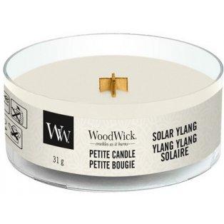 WoodWick Solar Ylang svíčka petite