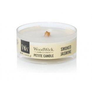 WoodWick Smoked Jasmine svíčka petite