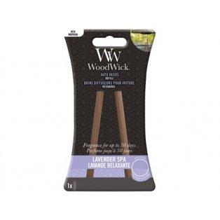 Woodwick náhradní vonné tyčinky do auta Lavender Spa