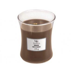 Woodwick svíčka - sklo střední/Humidor