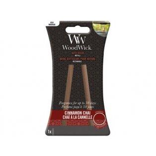 Woodwick svíčka - Auto Reeds náplň/Cinnamon Chai