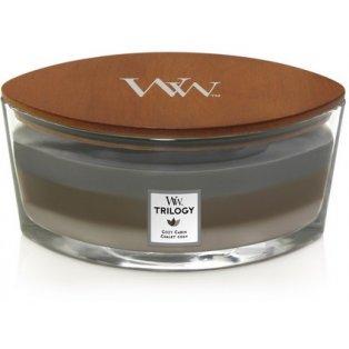 Woodwick svíčka - Trilogy loď/Cozy Cabin