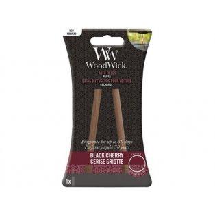 Woodwick svíčka - Auto Reeds náplň/Black Cherry