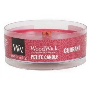 Woodwick Currant svíčka petite