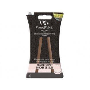 Woodwick svíčka - Auto Reeds náplň/Coastal Sunset