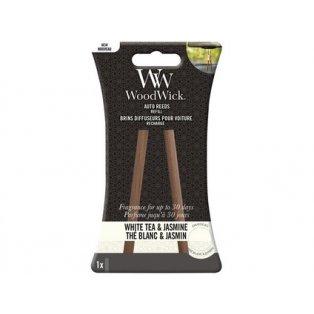 Woodwick svíčka - Auto Reeds náplň/White Tea & Jasmine