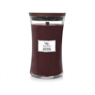 Woodwick svíčka - sklo velké/Velvet Tobacco