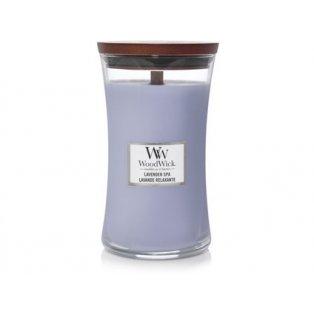 Woodwick svíčka - sklo velké/Lavender Spa 01/21