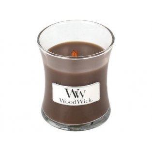 Woodwick svíčka - sklo malé/Oudwood 01/20