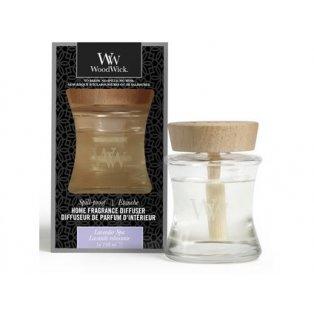 Woodwick svíčka - Spill-Proof difuzér/Lavender Spa