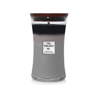 Woodwick svíčka - Trilogy sklo velké/Mountain Air