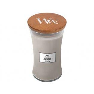 Woodwick svíčka - sklo velké/Sacred Smoke 01/21