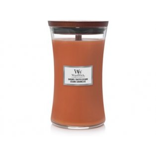 WoodWick Caramel Toasted Sesame svíčka velká