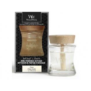 Woodwick svíčka - Spill-Proof difuzér/Linen
