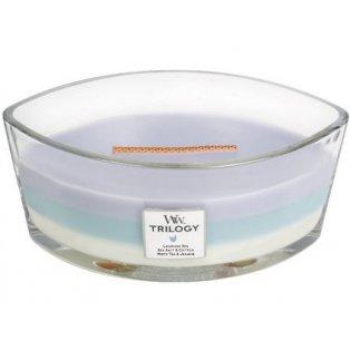 Woodwick svíčka - Trilogy loď/Calming Retreat 02/20