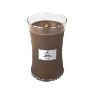 Woodwick svíčka - sklo velké/Humidor