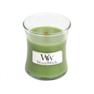 Woodwick svíčka - sklo malé/Evergreen 10/18