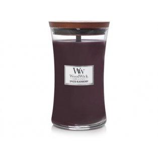 Woodwick svíčka - sklo velké/Spiced Blackberry 12/18