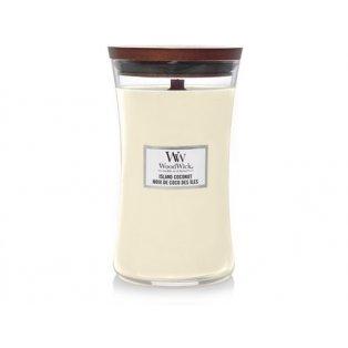 Woodwick svíčka - sklo velké/Island Coconut 06/20;06/21