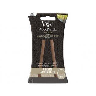 Woodwick svíčka - Auto Reeds náplň/Fireside