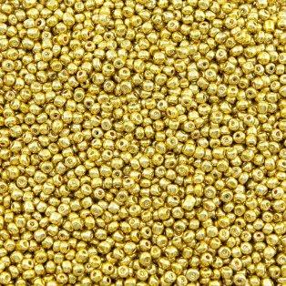 Rokajl - zlatý - ∅ 4 mm - 5 g