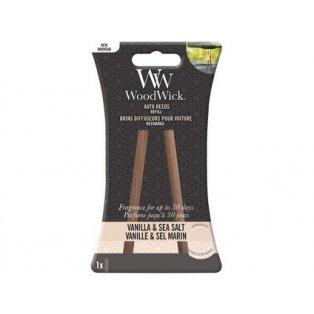 Woodwick svíčka - Auto Reeds náplň/Vanilla & Sea Salt