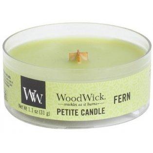 Woodwick Fern svíčka petite
