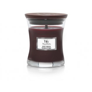 WoodWick Velvet Tobacco svíčka malá