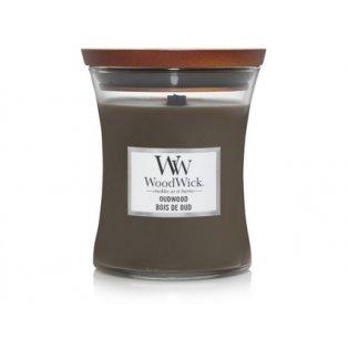 WoodWick Oudwood váza střední