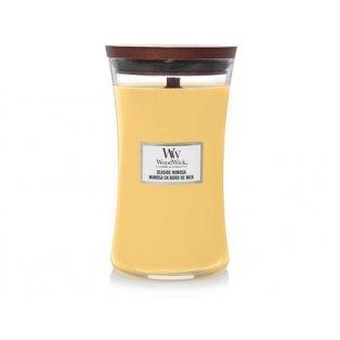 Woodwick svíčka - sklo velké/Seaside Mimosa 08/19;06/20;07/21
