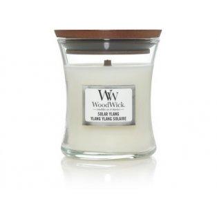 Woodwick svíčka - sklo malé/Solar Ylang 02/21