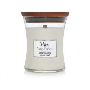 Woodwick svíčka - sklo střední/Smoked Jasmine 02/20;05/21