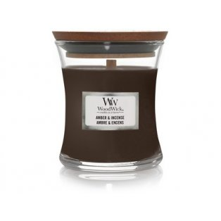 Woodwick Amber & incense váza malá