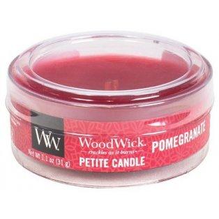 Woodwick Pomegranate svíčka petite
