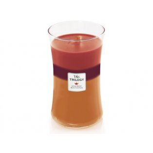 Woodwick svíčka - Trilogy sklo velké/Autumn Harvest