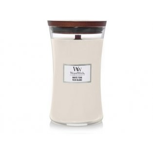 WOODWICK - WHITE TEAK - velké sklo - 1 ks
