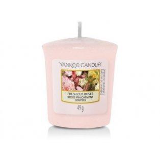 YANKEE CANDLE - FRESH CUT ROSES - votivní svíčka - 1 ks